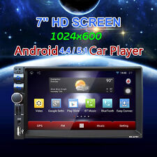 """7"""" Android 5.1 2Din HD In Dash Car Stereo GPS Navi MP4/3 Player Bluetooth Radio"""