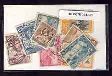 Côte de l'Or - Gold Coast 10 timbres différents