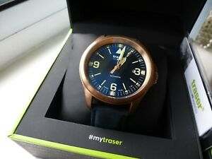 Traser Swiss Made P67 Office Pro Automatic Bronze Case Watch - ETA 2824