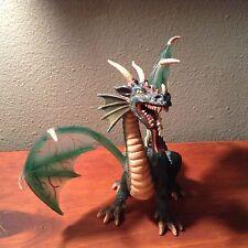 2003 Schleich Green Flying Dragon Knights Medieval Fantasy  70033 Wing A