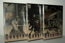 GUNGRAVE Vol. 11-12-13 DVD VIDEO NUOVI SIGLLATI VERSIONE GIAPPONESE TN1 50026