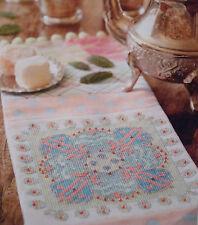 Le goût du Maroc Plateau Chiffon cross stitch chart African tiles Summer (A2)