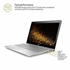 "HP Envy 15t Laptop 15 15.6"" UHD 4K i7-7500U 16GB 512GB SSD NVMe Backlit Key AC"