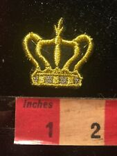 Golden Royal Crown Patch 81K2