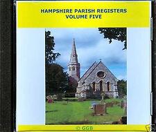 HAMPSHIRE PARISH REGISTERS MARRIAGES VOLUME V
