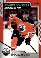 2020-21 UD Series 2 O-Pee-Chee Update Award Winners Red #601 Leon Draisaitl