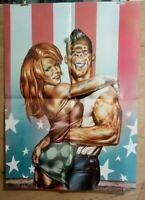 Affiche poster LIBERATORE RANK XEROX 70x50 cm pliée en 4