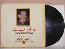 33CX 1281 B/G: MICHAEL RABIN: GLAZOUNOV/PAGANINI Violin Concerto LP Von Matacic