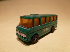 CORGI TOYS MERCEDES BENZ BUS POLIZEI VAN 1/70- GOOD CONDITION -