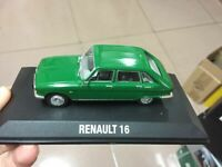 Norev Models! Renault 16 Green 1/43 Scale Die-Cast Model Car