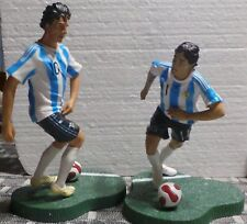 LOT 2 PLAYERS  MESSI AND TEVEZ  WORLD CUP FIFA 2010 SELECCION ARGENTINA