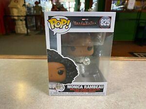 Funko POP! NIB Marvel Wanda Vision Disney+ MONICA RAMBEAU #825