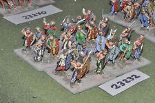 25mm roman era / gaul - warriors 24 figures - inf (23232)