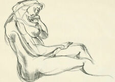Expressionism Nudes Art Drawings