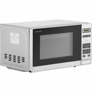 Sharp R220SLM 20L 800W Standard Microwave Oven - Silver