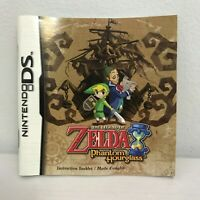 NINTENDO DS The Legend Of Zelda: Phantom Hourglass Instruction Booklet Manual