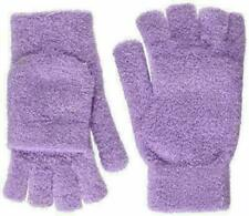 Steve Madden Fingerless Convertible Flip Top Gloves Mittens Lilac One Size NWT