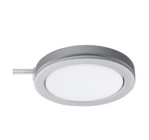 OMLOPP LED spotlight, aluminium-colour6.8 cm