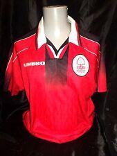 Nottingham Forest home shirt 1995-97 umbro PLAYER ISSUE unsponsored