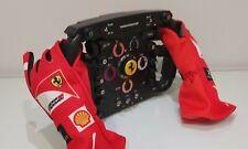 Ferrari F1 Alonso 2012 steering replica + replica guanti   gloves ferrari 2012