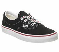Womens Vans Era Trainers Black White I Heart Trainers Shoes