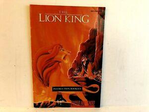 Lion King SNES SNS-ALKE-USA MANUAL ONLY Authentic Super Nintendo