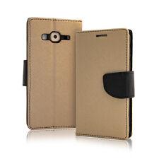 Etui Clapet TPU Iphone 7 - Couleur Or / Noir
