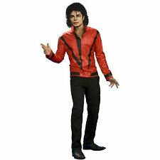 Men's Red Thriller Jacket Michael Jackson Costume SIZE XL --RI2--