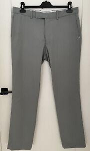 RALPH LAUREN RLX GOLF TROUSERS 34 WAIST--32 LEG. Grey Colour Men's