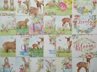 24 x Hunkydory Little Square Book Sweet Springtime Paper toppers - Easter Spring