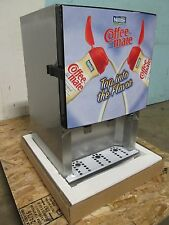 "BNIB ""SILVER KING"" COMMERCIAL REFRIGERATED 3 FLAVORS COFFEE CREAMER DISPENSER"