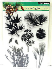 Penny Black Natures Gifts Clear Stamp Set 30-251 New!