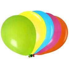 25 ballons de baudruche multicolores 25 centimetres