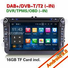Android 9.0 Autorradios GPS Radio para VW Passat CC Golf Tiguan Touran Seat DAB+