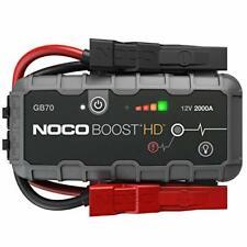 NOCO GB70 Genius Boost HD 2000 Amp 12V UltraSafe Lithium Jump Starter