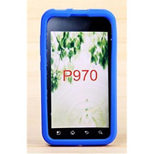 Silicone Case Blue for LG P970 Optimus Black