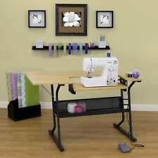 Sewing Machine Table Craft Storage Desk Professional Portable Folding Dresser