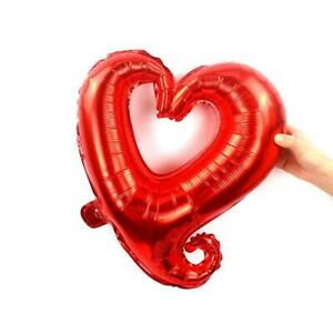"18"" Red Heart Shape Helium Foil Balloon Wedding Baby Shower Birthday Party"