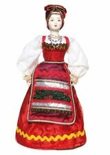 Russian Porcelain Pelageya Costume Doll - Large