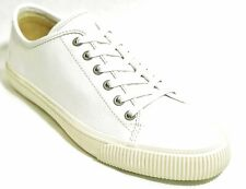 FRYE Men's Patton Low Lace up Sneakers Shoes Leather White 12 NEW IN BOX