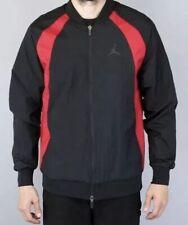 cfbe703754e262 Men s NIKE Air Jordan JSW WINGS WOVEN JACKET BLACK RED 843100-016 Size XXL