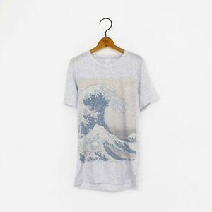 Men's/Unisex 'The Great Wave off Kanagawa' Katsushika Hokusai Japanese T-Shirt