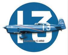 CAUDRON C-450  Sticker vinyle laminé
