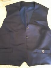 McDonald's Collectible Employee Manager Blue Vest with Logo