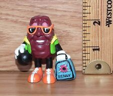 "Vintage California Raisins Hardee's ""Benny the Bowler"" PVC Figure Only **READ**"