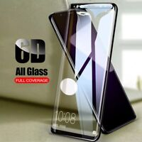 6D Full Cover Tempered Glass Screen Protect For Samsung Galaxy S8 S9 Plus Note 8