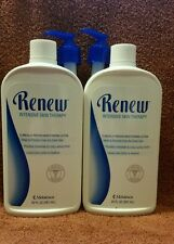 FREE SHIPPING - 2 bottles of Renew Intensive Skin Therapy Lotion with pump 20 oz
