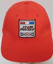TEAM PENSKE RACING ROGER PENSKE INDY CAR INDY RACING LEAGUE ADJUSTABLE HAT CAP