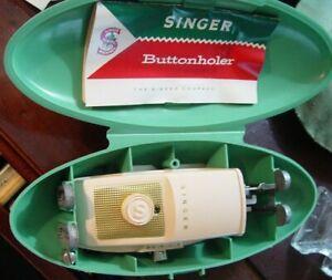 Singer Buttonholer Sewing Machine Attachment # 489510