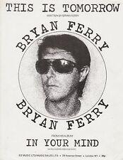 Esto es mañana-Bryan Ferry - 1977 Partituras